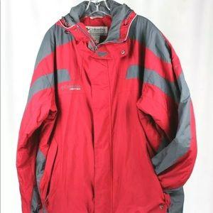 Columbia Men's Vertex Jacket With Hood Size XL